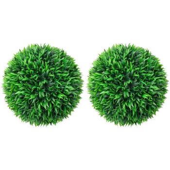 Casa Piante artificiali VidaXL Sfera di bosso artificiale 38 cm Verde