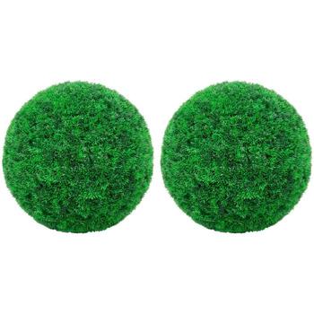 Casa Piante artificiali VidaXL Sfera di bosso artificiale 35 cm Verde