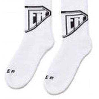 Accessori Calzini Iuter Calze Logo Socks - White Multicolore