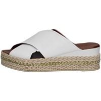 Scarpe Donna Espadrillas Bueno Shoes Q5907 BIANCO