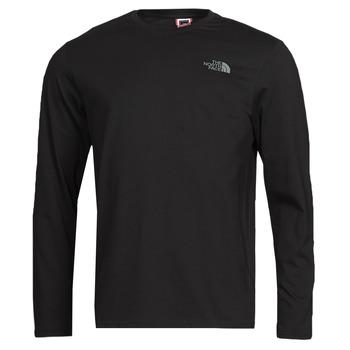 Abbigliamento Uomo T-shirts a maniche lunghe The North Face L/S EASY TEE Nero