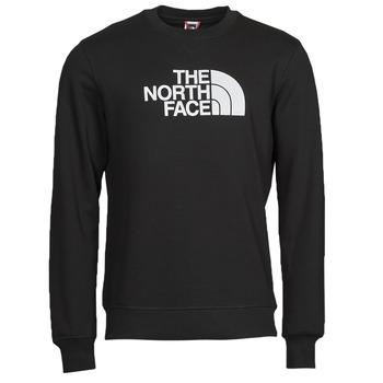 Abbigliamento Uomo Felpe The North Face DREW PEAK CREW Nero / Bianco