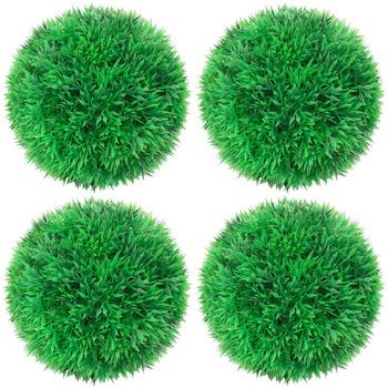 Casa Piante artificiali VidaXL Sfera di bosso artificiale 12 cm Verde