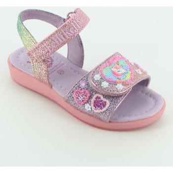 Scarpe Bambina Sandali Lelli Kelly 7404 glitter multi unicorno Rosa