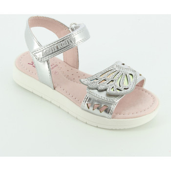 Scarpe Bambina Sandali Lelli Kelly 7520 sandalo ali Argento