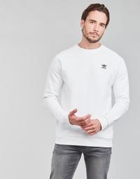 Abbigliamento Uomo Felpe adidas Originals ESSENTIAL CREW Bianco