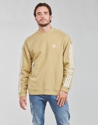 Abbigliamento Uomo Felpe adidas Originals LOCK UP CREW Ton / Beige