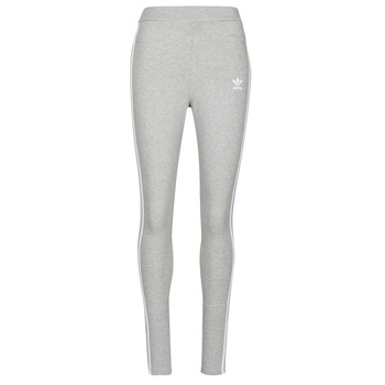 Abbigliamento Donna Leggings adidas Originals 3 STRIPES TIGHT Bruyère / Grigio / Moyen