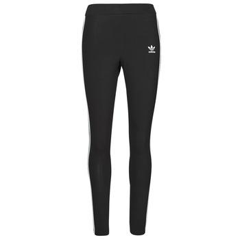 Abbigliamento Donna Leggings adidas Originals 3 STRIPES TIGHT Nero