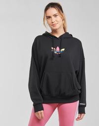 Abbigliamento Donna Felpe adidas Originals HOODIE Nero