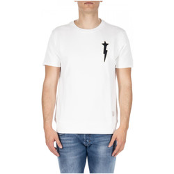 Abbigliamento Uomo T-shirt & Polo Macchia J. THUNDERSTAR FLEECE TEES 01-off-white