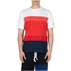 Abbigliamento Uomo T-shirt & Polo Champion CREWNECK T-SHIRT rs011-crd-nvb-wht