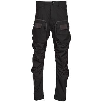 Abbigliamento Uomo Pantalone Cargo G-Star Raw 3D STRAIGHT TAPERED CARGO Nero