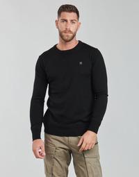 Abbigliamento Uomo Maglioni G-Star Raw PREMIUM BASIC KNIT R LS Nero