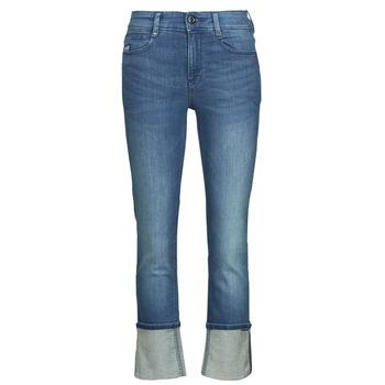 Abbigliamento Donna Jeans dritti G-Star Raw NOXER STRAIGHT Blu