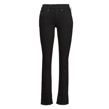 Abbigliamento Donna Jeans dritti G-Star Raw NOXER STRAIGHT Nero