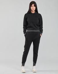 Abbigliamento Donna Pantaloni da tuta G-Star Raw PREMIUM CORE 3D TAPERED SW PANT WMN Nero