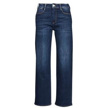 Abbigliamento Donna Jeans dritti Le Temps des Cerises PULP HIGH WAIST Blu