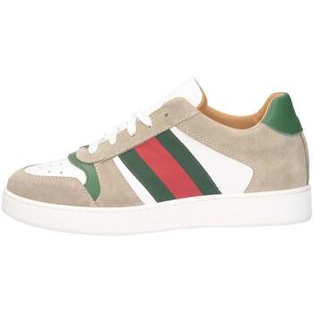 Scarpe Uomo Sneakers basse Made In Italia 122 BIANCO/GRIGIO