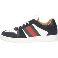 Scarpe Uomo Sneakers basse Made In Italia 122 Sneakers Uomo BIANCO/BLU BIANCO/BLU