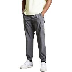 Abbigliamento Uomo Pantalone Cargo Lyle & Scott Reflective Track Pants Argento Grigio