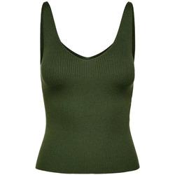 Abbigliamento Donna Top / T-shirt senza maniche Jacqueline De Yong 15180497 Verde