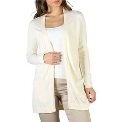 Abbigliamento Donna Gilet / Cardigan Fontana - P1991 Bianco