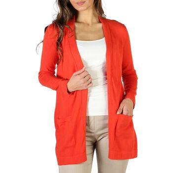 Abbigliamento Donna Gilet / Cardigan Fontana - P1991 Arancio