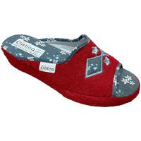 Scarpe Donna Pantofole Cristina CRI06921ros rosso