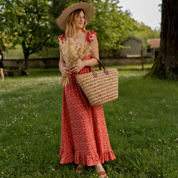 Abbigliamento Donna Abiti lunghi Céleste AURORE version courte Rosso