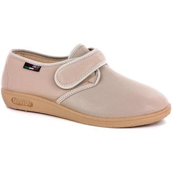 Scarpe Donna Pantofole Gaviga 38625 BEIGE