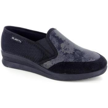 Scarpe Donna Pantofole Electa 51421 NERO