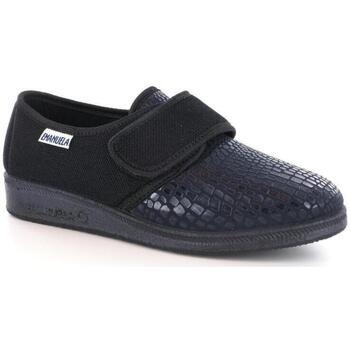 Scarpe Donna Pantofole Emanuela 42438 NERO