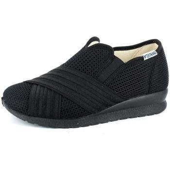 Scarpe Donna Pantofole Emanuela 48324 NERO