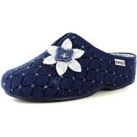 Scarpe Donna Pantofole Emanuela 54657 BLU