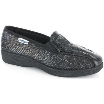 Scarpe Donna Pantofole Emanuela 39633 NERO