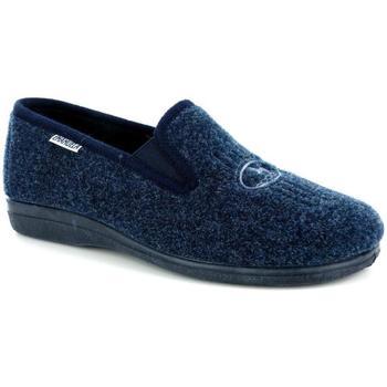 Scarpe Uomo Pantofole Emanuela 18021 BLU