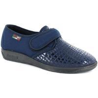 Scarpe Donna Pantofole Gaviga 34242 BLU
