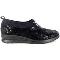 Scarpe Donna Pantofole Electa 52627 NERO