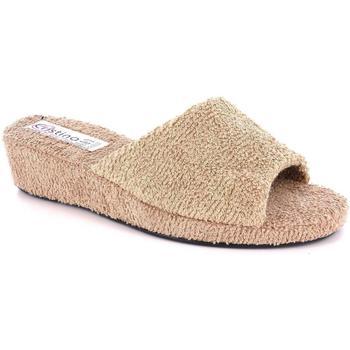 Scarpe Donna Pantofole Cristina 50743 BEIGE