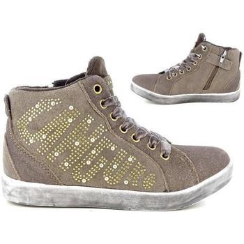 Scarpe Bambina Sneakers alte Canguro 37328 BRONZO