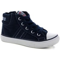 Scarpe Bambino Sneakers alte Canguro 41385 BLU