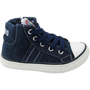 Scarpe Bambino Sneakers alte Canguro 47869 BLU