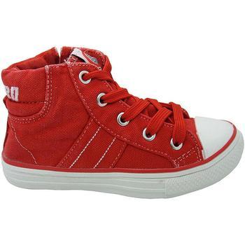 Scarpe Bambino Sneakers alte Canguro 47869 ROSSO