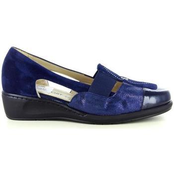 Scarpe Donna Slip on Confort 53111 BLU