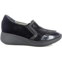 Scarpe Donna Slip on Confort 54727 NERO