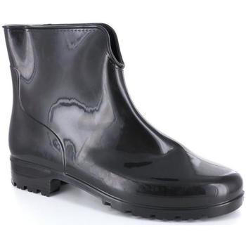 Scarpe Donna Stivali da pioggia G. E G. G. E G. 35077 NERO
