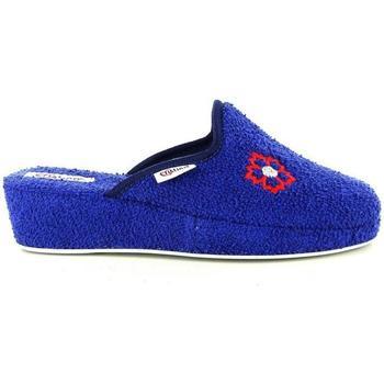 Scarpe Donna Pantofole Cristina 39453 BLU