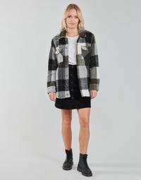 Abbigliamento Donna Giacche / Blazer Volcom SILENT SHERPA JACKET Nero