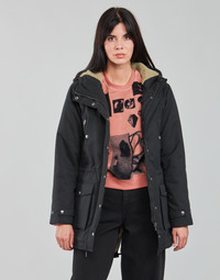 Abbigliamento Donna Parka Volcom WALK ON BY 5K PARKA Nero